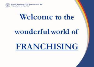 World of Franchising