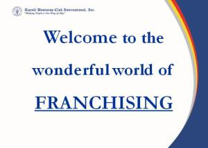 World of Franchising