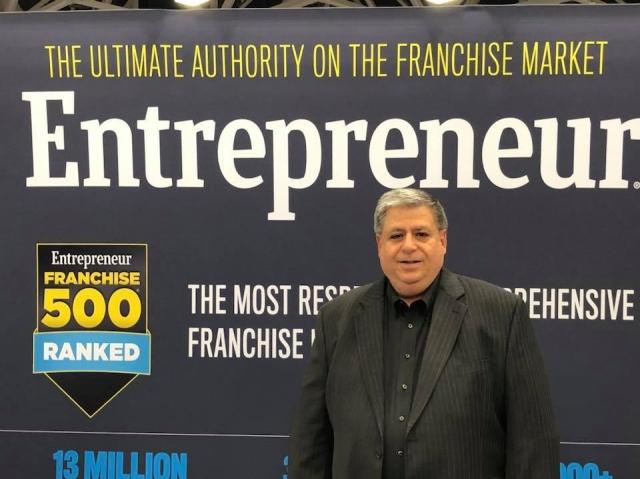 entrepreneur booth